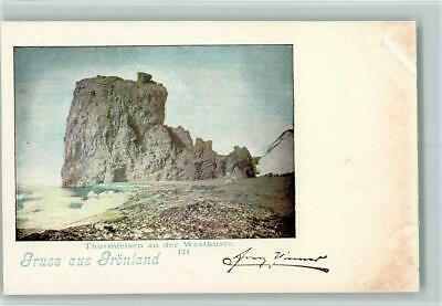 13091218 - Groenland Nr. 171 Thurmfelsen an der Westkueste 1898 AK (Westküste Kanada)