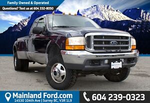 2001 Ford F-350 XLT LOW KM'S, ONE OWNER