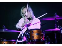 Female Drummer Available for Paid Work