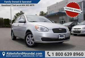 2010 Hyundai Accent GL LOW KILOMETRES, ACCIDENT FREE & ONE OWNER
