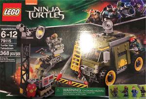Lego 79115 TMNT Turtle Van Takedown NISB Teenage Mutant Ninja