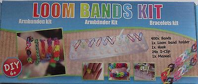 Loom Bands Kit * Armbänder Starter set * 400 Bänder * Charms *  * Neu * OVP ()