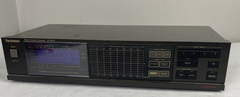 Technics SH-8046 Stereo Graphic Equalizer Spectrum Analyzer