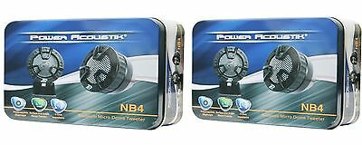 4) NEW POWER ACOUSTIK NB-4 250 WATT 1