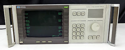 Untested - Agilent Hp 70206a System Graphics Display