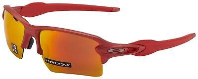 Oakley Flak 2.0 XL Sunglasses OO9188-7459 Ir Red | Prizm Ruby Lens | BNIB