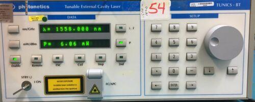 Photonetics Tunics-bt 3648he 1560 With Opt. (p6,r) Tunable External Cavity Laser