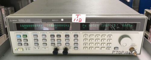 Agilent / HP  83752A Synthesized Generator 10Mhz-20Ghz