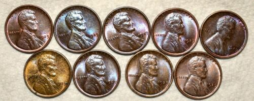 Brilliant Uncirculated 1929-P Lincoln Cent, Beautiful specimens