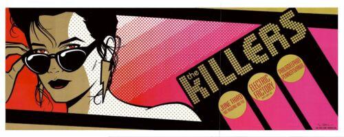 MINT & SIGNED Killers 2005 Philadelphia Todd Slater Poster 116/150