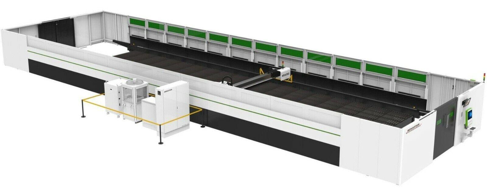 Best NEW BESCUTTER GIGA SERIES 12KW 10'X40' IPG FIBER LASER CUTTER