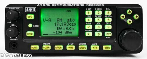 AOR AR-ONE Wideband Government Scanner Radio Receiver 10 KHz - 3.3 GHz Unblocked
