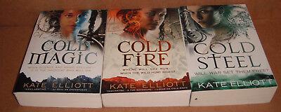 The Spiritwalker Trilogy: Vol. 1,2,3 by Kate Elliott  Paperback