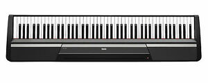 Korg SP170S 88 Key Portable Digital Piano Weighted Hammer-Action Keyboard-Black