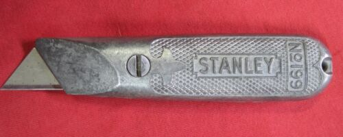 Vintage Stanley No.199 Fixed Blade Utility Razor Knife Box Cutter