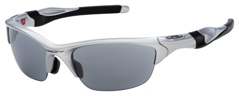 Oakley Half Jacket 2.0 Sunglasses OO9153-02 Silver | Slate Iridium | Asia Fit