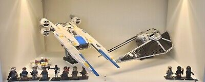LEGO Star Wars Rogue One Bundle U-Wing 75155 + Tie Striker 75154 + Extras *READ*