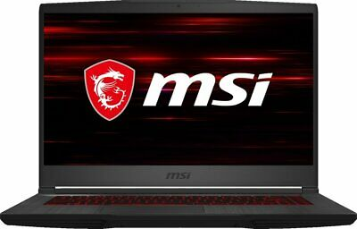 "NEW MSI GF65 Thin 15.6"" GAMING LAPTOP i7-10750H NVIDIA GTX 1660Ti 512GB SSD 8GB"