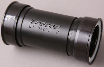 FSA BB386 CRANK TO BB86/BB92 BOTTOM BRACKET BLACK NON THREADED New in Box