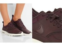 Nike air Thea burgundy trainers size 3.5
