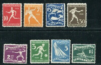 D057739 Netherlands MH Sc. B25-B32, 1928 Olympics