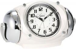 SEIKO Alarm Clock Loud Volume Bell Sound PYXIS Super RAIDEN NR438W With Tracking