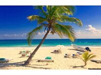 2 return Virgin Atlantic flights to Cancun, Mexico . 6th-22nd July