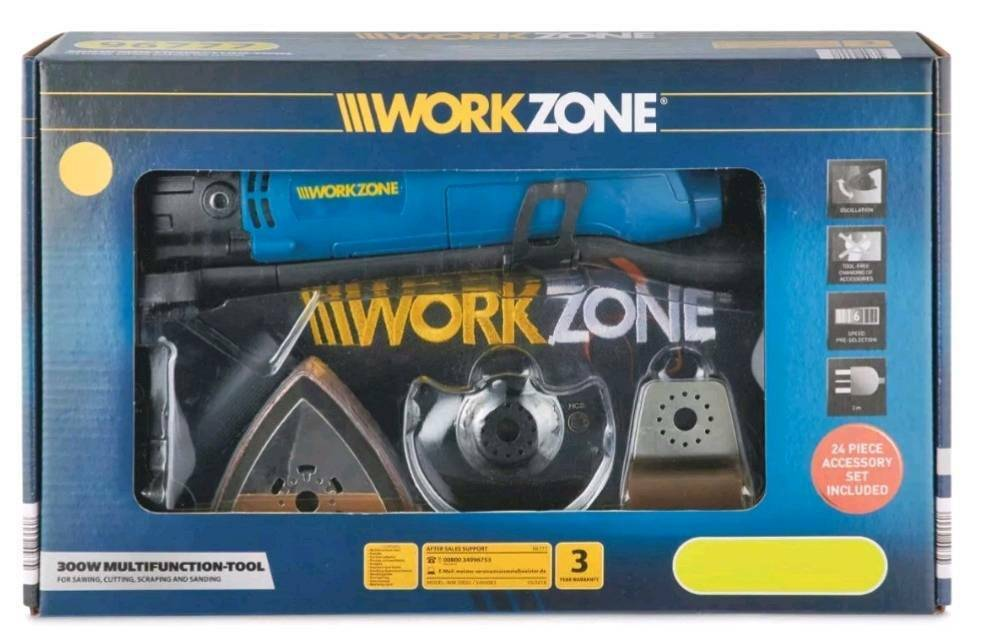 Multitool,Workzone 300w Multifunction Tool | in Bishop Auckland, County  Durham | Gumtree