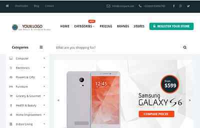Great Compare Affiliate Store Website Free Installationhosting