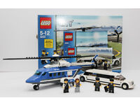 Details about Lego City 3222 Helicopter & Limousine. 100% complete good quality Lego. Comes