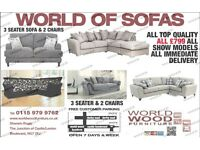 Sofa suites and corner sofas