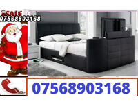 TV BED ELECTRIC BRAND NEW WITH STORAGE 1297