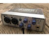 Presonus Firebox with original box and cable