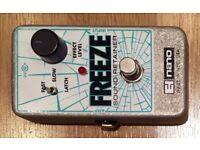 Electro Harmonix FREEZE sound sustainer pedal, Excellent