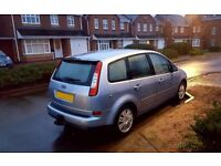 QUICK Sale ! FORD C-MAX - PERFECT Condition - ECONOMICAL FAMILY Car - MOT and TAX Low Mil lpg s-max