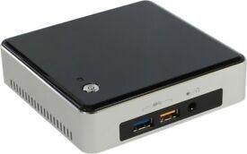Intel Next Unit of Computing Kit Desktop Mini PC (Silver/Black) NUC5i3RYK Core i3 5010U 2.1 GHz