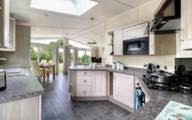 2 BEDROOM LODGE FOR SALE IN THE YORKSHIRE DALES, LANCASHIRE, SKIPTON, LEEDS, WIGAN, MANCHESTER