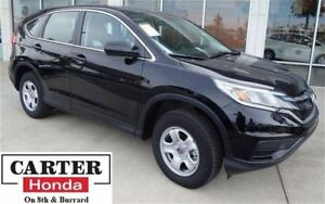 2015 Honda CR-V LX + LOW KMS! + LOCAL + ACCIDENT FREE + CERTIFIE