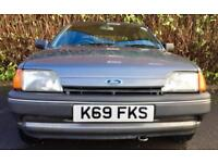OWNED SINCE 1999 CLASSIC CAR 1992 FORD FIESTA LX 1118 CC PETROL 54 BHP 80000 MILES TO BE RESTORED