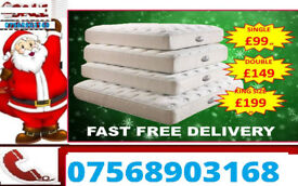 MATTRESS BOXING DAY BRAND NEW SILENTNIGHT MATTRESSES 385