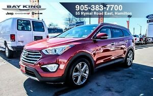 2016 Hyundai Santa Fe XL AWD, SUNROOF, NAVI, BACKUP CAM, LEATHER