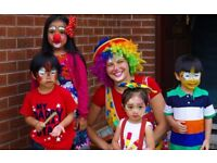 Face painting, balloon modelling, circus games, clown