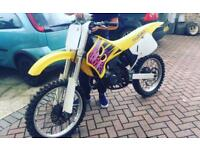 Rm 125 road registered