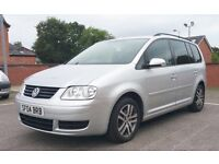 VW Volkswagen Touran 1.9 TDI 7 Seater Low Mileage Alloy Wheels £2290