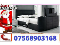 TV BED ELECTRIC BRAND NEW WITH STORAGE 00118
