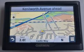 "MINT 5"" GARMIN nuvi 57LM GPS Sat Nav WEST EUROPE MAPS Trip Planner Foursquare Eco Route (no offers!)"