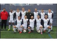JOIN 11 ASIDE FOOTBALL TEAM IN LONDON, FIND SATURDAY FOOTBALL TEAM, JOIN SUNDAY FOOTBALL TEAM sw342