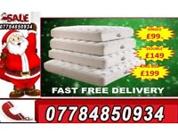 MATTRESS BRAND NEW DREAMS BED MATTRESSES SINGLE DOUBLE FAST DELIVERY