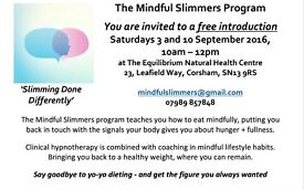 Learn how to harness the power of your mind to lose weight. Free intro workshop.