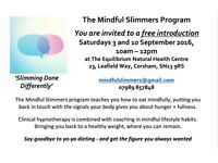 LOSE WEIGHT IN A NEW WAY. Train your brain at this free intro in Corsham. Sat 10th call 07989 857848